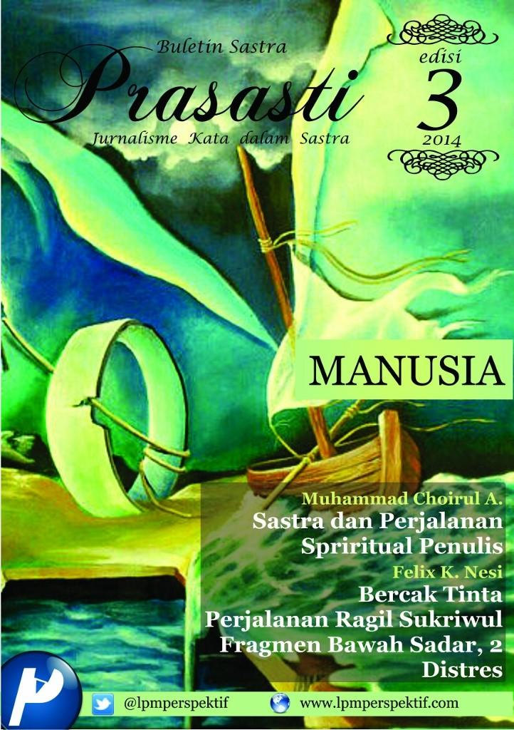 Book Cover: Buletin Prasasti Edisi 3: Manusia