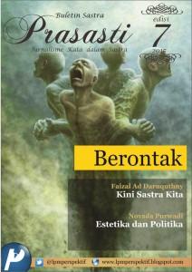 Book Cover: Buletin Prasasti Edisi 7: Berontak