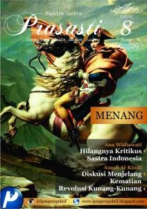 Book Cover: Buletin Prasasti Edisi 8: Menang