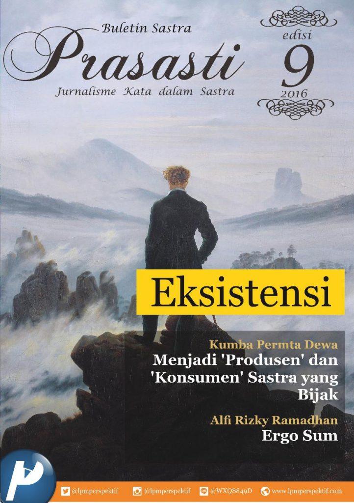 Book Cover: Buletin Prasasti Edisi 9: Eksistensi