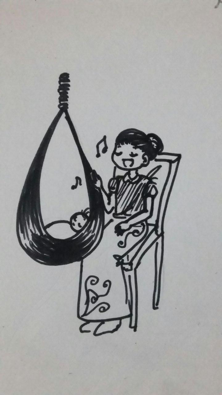Ilustrasi Puisi. (PERSPEKTIF/Ibet)