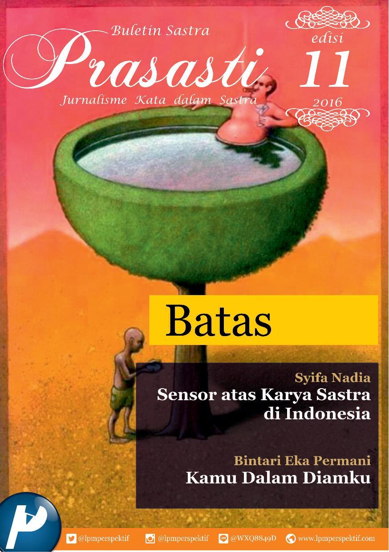 Book Cover: Buletin Prasasti Edisi 11: Batas