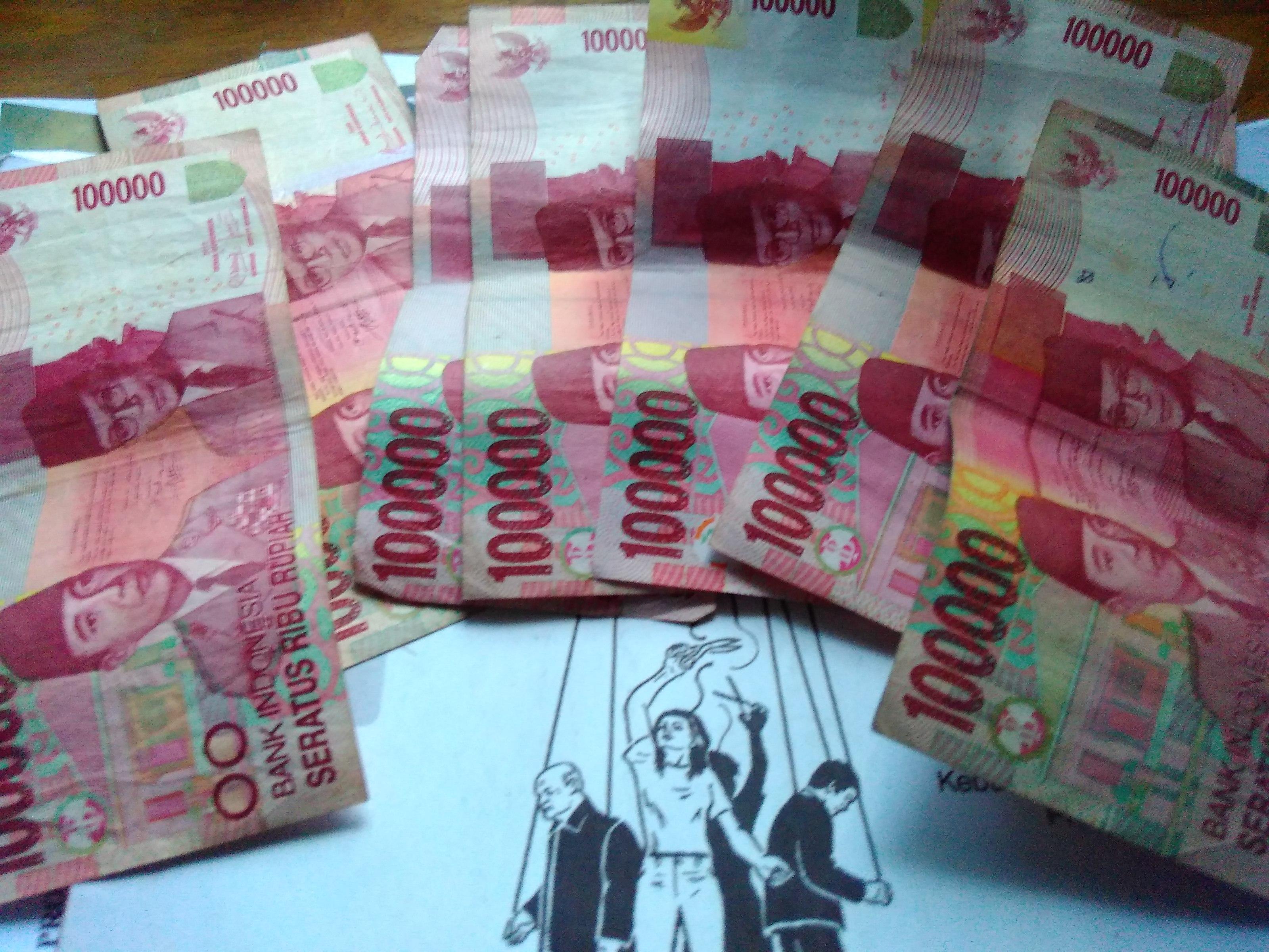 Ilustrasi Uang. (PERSPEKTIF)