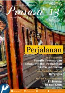 Book Cover: Buletin Prasasti Edisi 13: Perjalanan