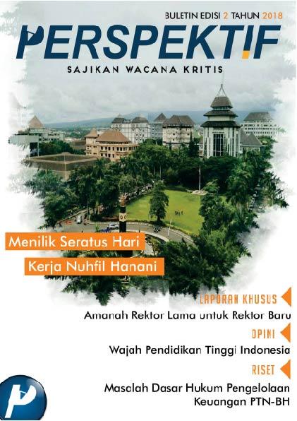 Book Cover: Buletin Bulanan 2018 Edisi 2: Menilik Seratus Hari Kerja Nuhfil Hanani