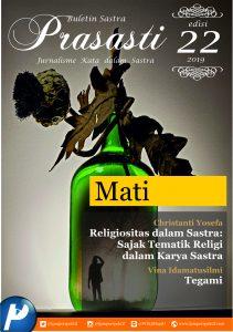 Book Cover: Buletin Prasasti Edisi 22 : Mati