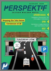 Book Cover: Buletin Bulanan 2019 Edisi 2: Simpang Siur Tata Kelola Kendaraan di UB