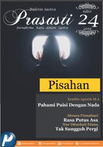 Book Cover: Buletin Prasasti Edisi 24 : Pisahan
