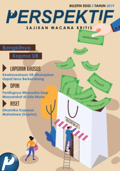 Book Cover: Buletin Bulanan 2019 Edisi 3: Bangkitnya Kopma UB