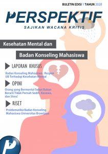 Book Cover: Buletin Bulanan 2020 Edisi 1: Kesehatan Mental dan Badan Konseling Mahasiswa