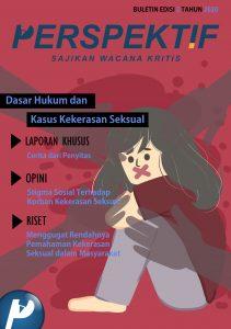 Book Cover: Buletin Bulanan 2020 Edisi 2: Dasar Hukum dan Kasus Kekerasan Seksual