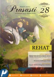 Book Cover: Buletin Prasasti Edisi 28: Rehat