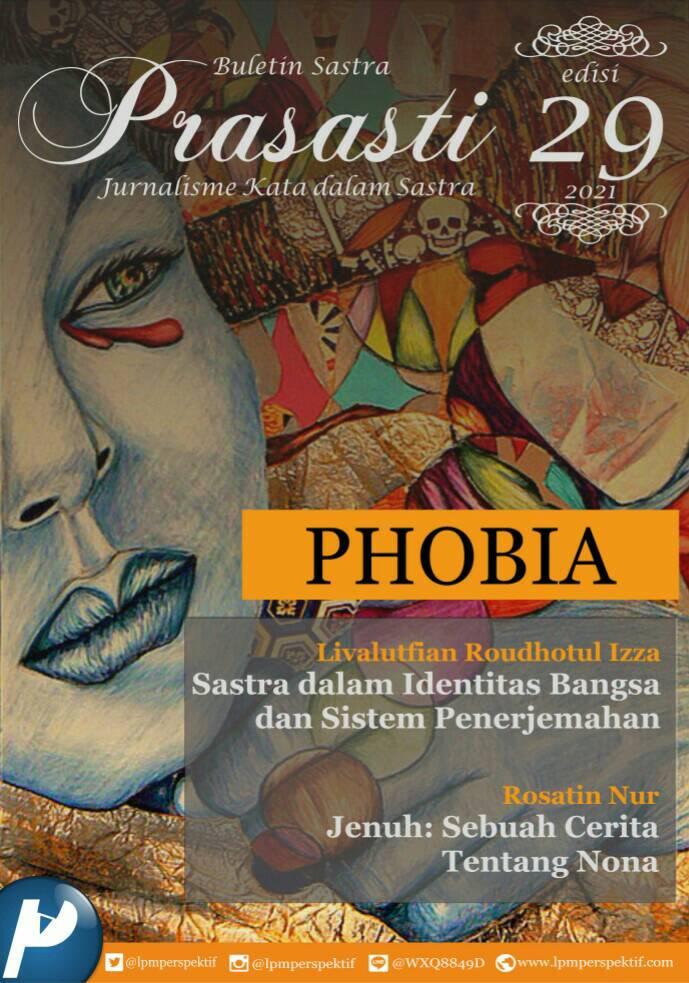 Book Cover: Buletin Prasasti Edisi 29: Phobia