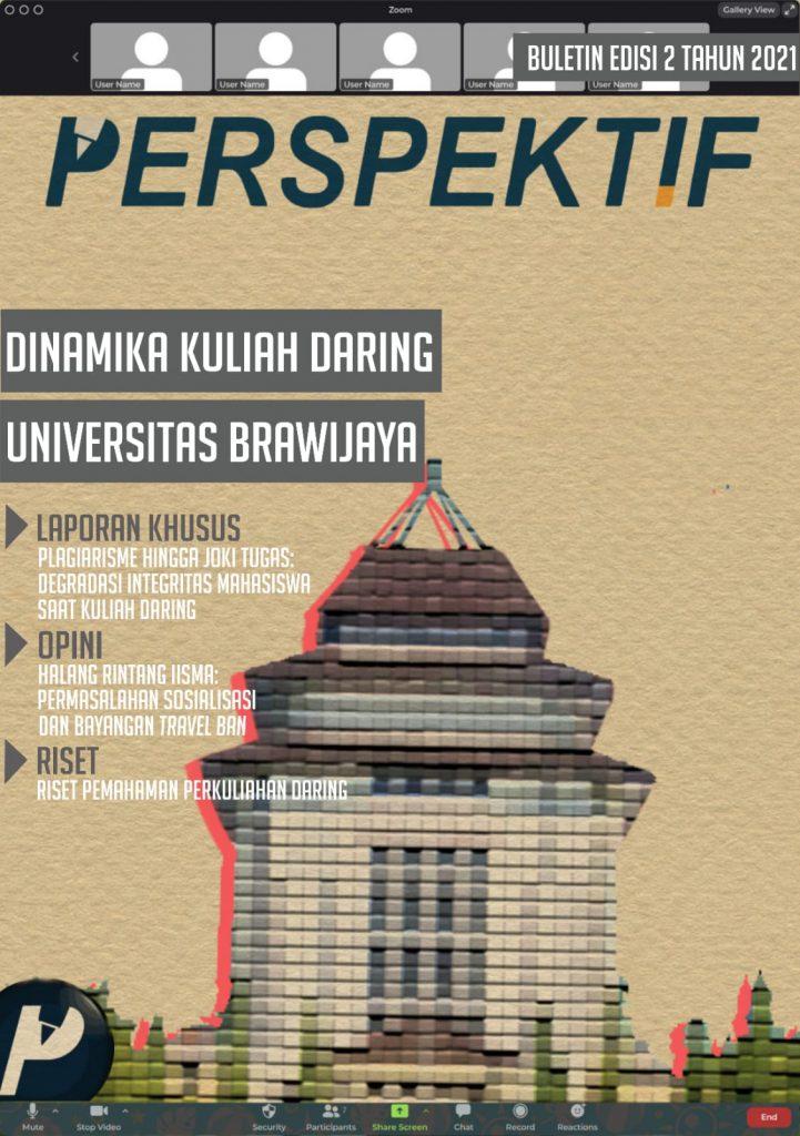 Book Cover: Buletin Redaksi Edisi 2 Tahun 2021: Dinamika Kuliah Daring Universitas Brawijaya